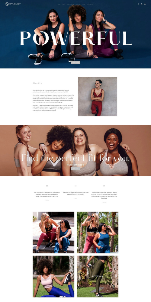 Styleloft New Website