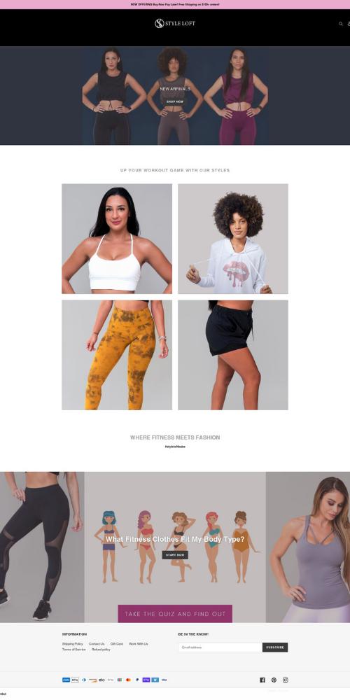 Styleloft Old Website