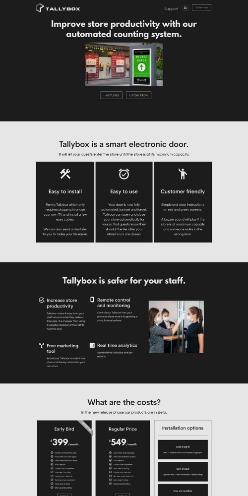 Tallybox New Website